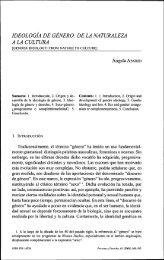 ideología de genero: de la naturaleza a la cultura - Universidad de ...