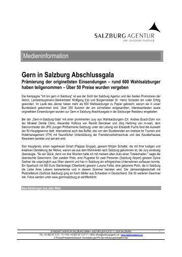 Gern in Salzburg Abschlussgala