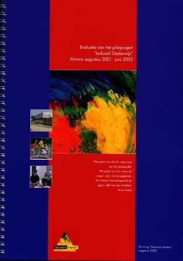 evaluatieverslag - Index of