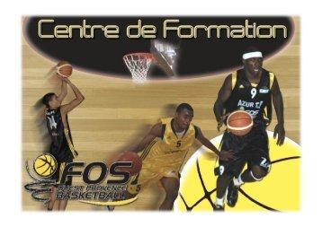 Plaquette centre de Formation FOPB.pdf - Fos Ouest Provence Basket