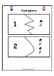 Musiek legkaarte - Kleuters