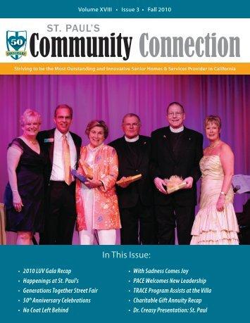 Community Connection - St. Paul's Senior Homes & Services