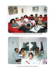 Emnetu, Saron, Elsa, Selome, Sidona and Mussie - Emnetu's