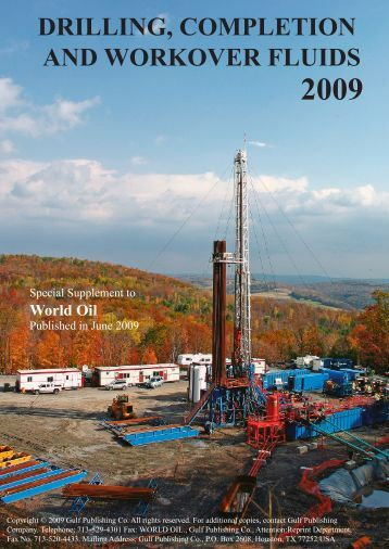 drilling, completion and workover fluids 2009 - Promzone.ru