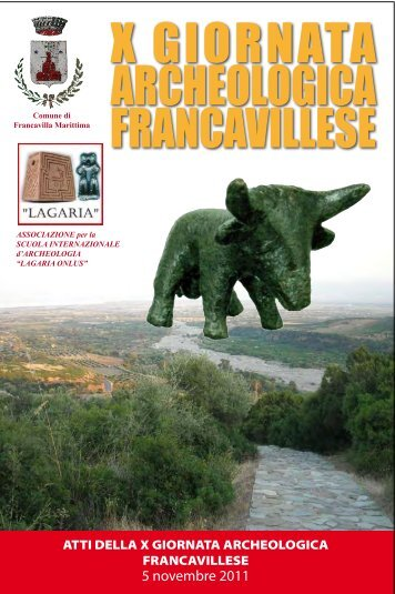 X Giornata Archeologica - Lagariaonlus.it