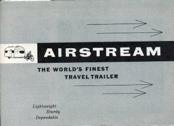 Specifications and Floor Plans - Airstream
