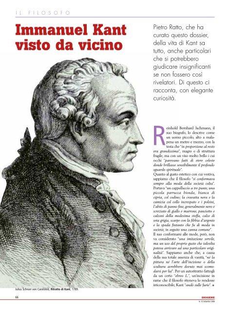 Immanuel Kant visto da vicino - Loescher Editore