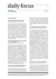Daily Focus - St.Galler Kantonalbank