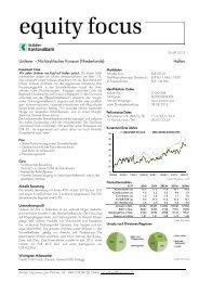 Equity Focus, 26.09.2012 Unilever ... - St.Galler Kantonalbank