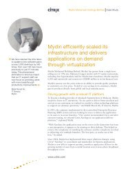 Mydin efficiently scaled its infrastructure and delivers ... - Citrix