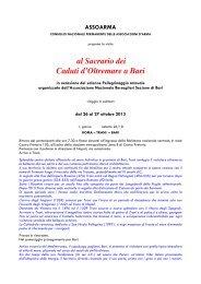 programma - ANUTEI - Associazione Nazionale Ufficiali Tecnici dell ...