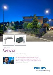 Download PDF 'Case study Gewiss, Cenate Sotto BG - Philips Lighting