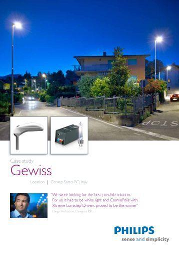 Download PDF 'Case study Gewiss, Cenate Sotto BG - Philips Lighting