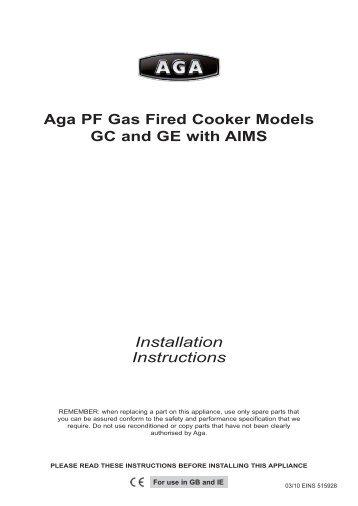 aga oil cooker ocb rh yumpu com Service ManualsOnline Repair Manuals
