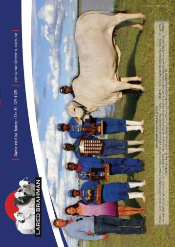 Deel 2 - Brahman Breeders Society of South Africa