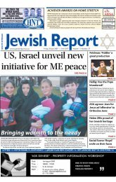 1 - South African Jewish Report