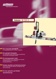 Roboter W 721 C - plasma GmbH