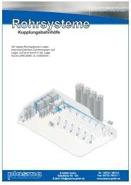 Prospekt Kupplungsbahnhöfe - plasma GmbH