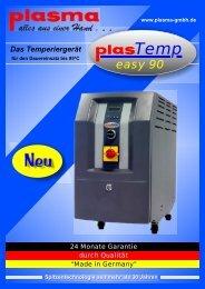 Temp easy 90 - plasma GmbH