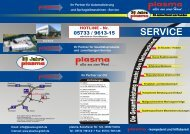 PLASMA SERVICE FLYER 02.cdr - plasma GmbH