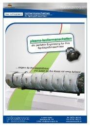 r plasma-lsoliermanschetten - plasma GmbH