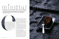 Artikel Psychologie Magazine - december 2012 - Mindful eten Utrecht