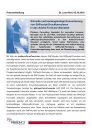Schnelle und kostengünstige Konvertierung von SAPscript ...