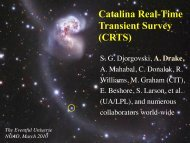 Exploring the Time Domain With the Catalina Real-Time Transient ...