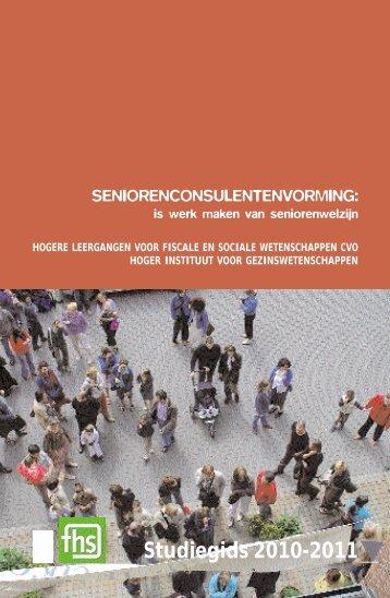 Bekijk de informatiebrochure - Hoger Instituut voor ...