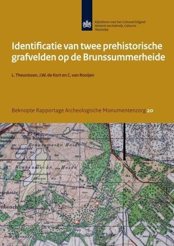 Identificatie van twee prehistorische grafvelden op de ...