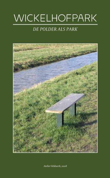 Brochure Wickelhofpark - Atelier Veldwerk