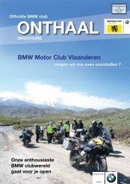 Download Onthaalbrochure 2013 - BMW MC Vlaanderen!