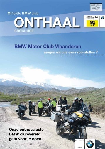 Download Onthaalbrochure 2013 - BMW MC Vlaanderen!