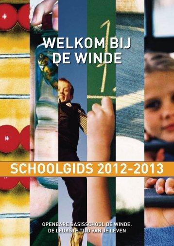 Schoolgids - OBS De Winde