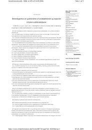 Side 1 af 5 retsinformation.dk - BEK nr 459 af 16/05/2006 05 ... - DBCG