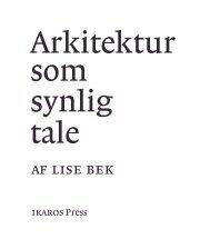 af lise bek - IKAROSPress.dk