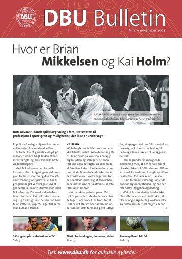 Bulletin nov 2002 - DBU