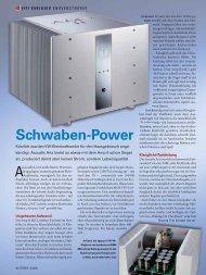 Schwaben-Power - Accustic Arts