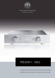 Preamp I - Mk3 - Accustic Arts