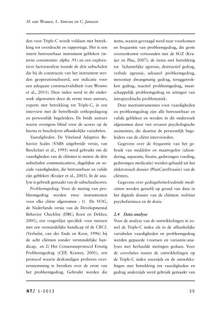 artikel NTZ - Asvz