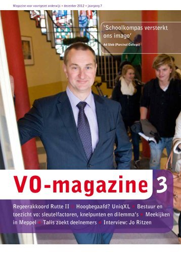Download het magazine - VO-raad