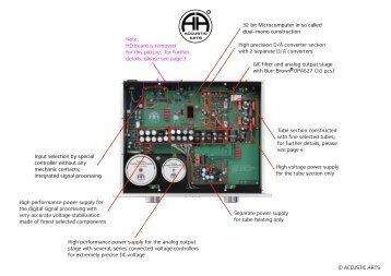 TUBE DAC II - MK 2_inside_englisch - Accustic Arts