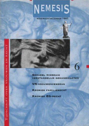 november/december 1 9 9 7 vn-vrouwen verdrag roniek ... - Aletta