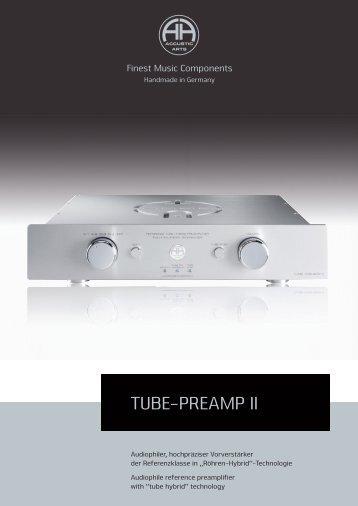 TUBE-PREAMP II