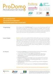 Mit strategischem Kompetenzmanagement ... - Agentur der Wirtschaft
