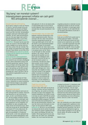 Download en lees het volledige artikel uit magazine 40 (PDF) - RES
