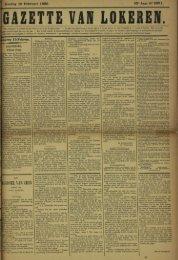 Zondag 16 Februari 1896. 53* Jaar N» 2691. >keren 15Februa.