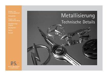 Metallisierung - Peter Stücker-Lackierungen