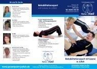 Rehabilitationssport mit Lizenz in Jülich - Power Point