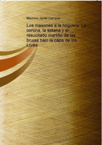 los masones a la hogera - José Valdemar Portillo Lopez